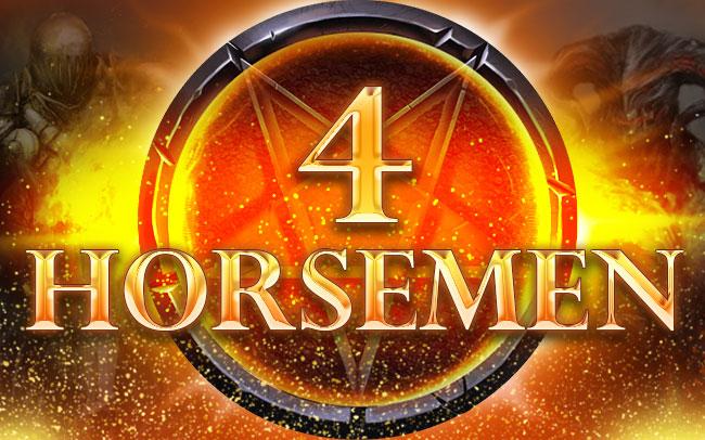 4 Horsemen Game Logo