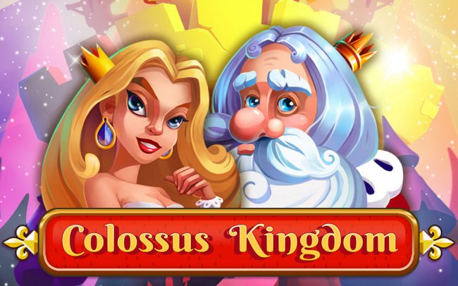 Colossus Kingdom Game Logo