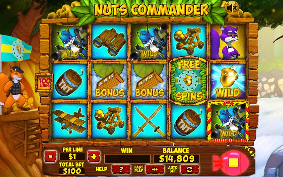 Spiele Nuts Commander - Video Slots Online