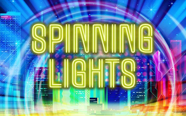 Spinning Lights Game Logo