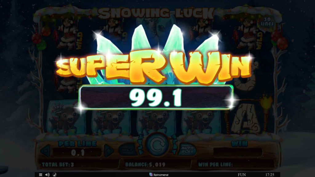 Spiele Snowing Luck Christmas Edition - Video Slots Online