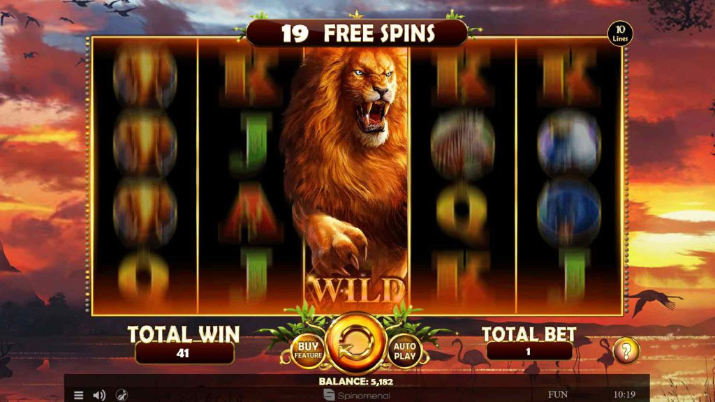 Free Spins Moving Wild