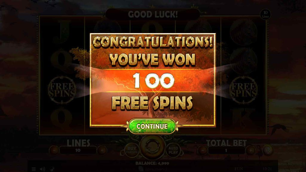 Free Spins Splash