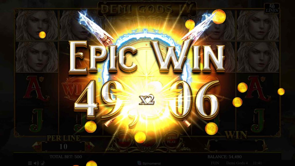 Win Multiplier Enter to Epic Win